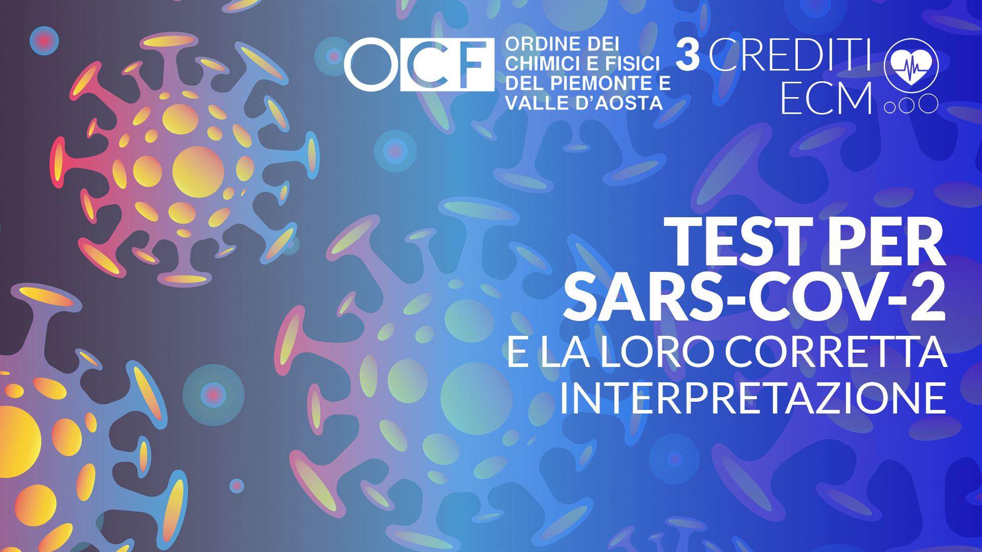 OCF ordine dei chimici e dei fisici test sars cov 2