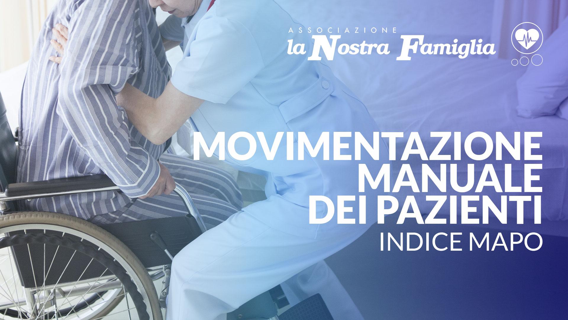 Movimentazione manuale dei pazienti - indice MAPO